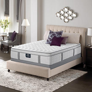 Serta Perfect Sleeper Misthaven Plush Mega Eurotop Mattress Set (Various Sizes)