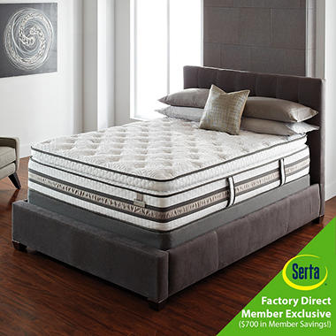 Serta iSeries Affirmation Super Pillow Top Mattresses and