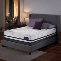 Serta iComfort Savant III Plush Gel Memory Foam Queen Mattress Set