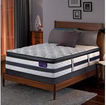 Serta iComfort Hybrid HB700Q Super Pillow Top Split Low Profile Mattress Set - Queen