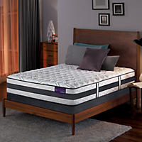 Serta iComfort Hybrid Expertise Cushion Firm Queen Mattress Set