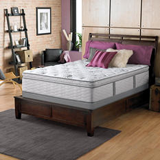 Serta Perfect Sleeper Dunway Plush Super Pillowtop Twin Mattress Set