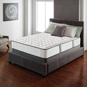 Serta Lux Suite Firm Cal King Mattress Set