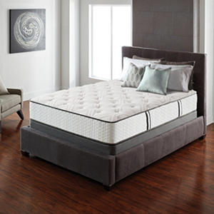 Serta Lux Suite Plush Cal King Mattress Set