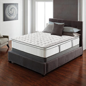 Serta Lux Suite Euro Top Cal King Mattress Set