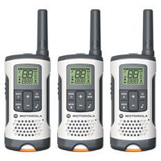 Motorola Talkabout T261TP Two-Way Radio- White (3 Pack Bundle)