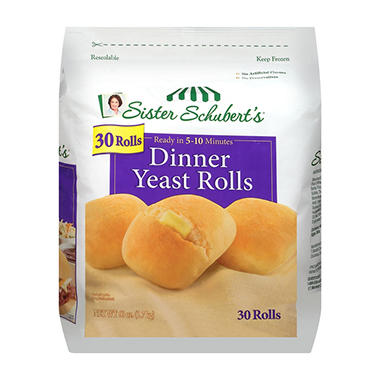 Sister Schubert's Dinner Yeast Rolls - 30 ct.