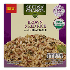 Seeds of Change Brown and Red Rice, Chia and Kale (8.5 oz., 6 pk.)