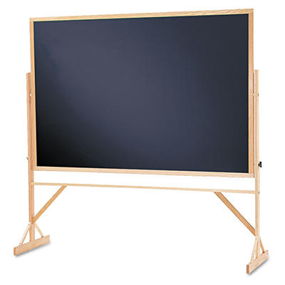 Quartet - Reversible Chalkboard with Hardwood Frame - 48 x 72