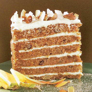 Sweet Street Big Six-Layer Carrot Cake