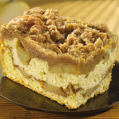 Sweet Street Apple Crumb Cake