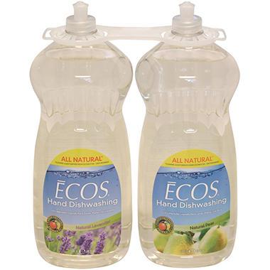 ECOS Hand Diswashing Liquid - 50 fl. oz. - 2 pk.