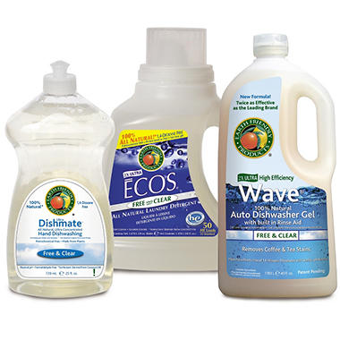 Earth Friendly Products Free and Clear Cleaning Kit