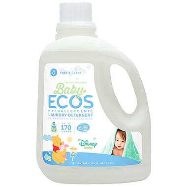 Disney Baby Ecos Liquid Laundry Detergent - Free and Clear - 170 oz.