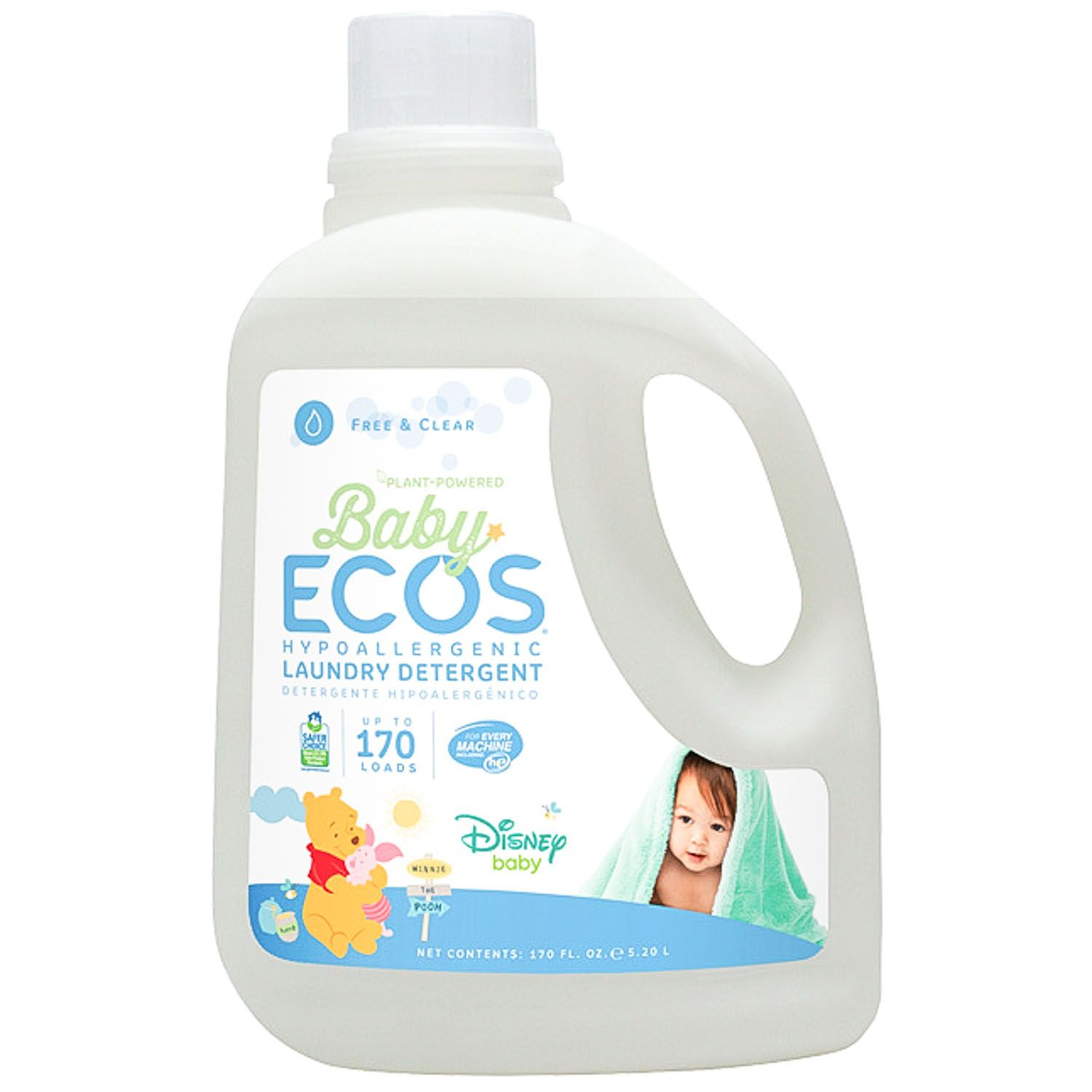 Disney Baby Ecos Liquid Laundry Detergent Free And Clear