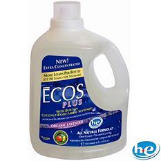 Ecos Plus Liquid Laundry Detergent Lavender - 210 oz. - 252 loads