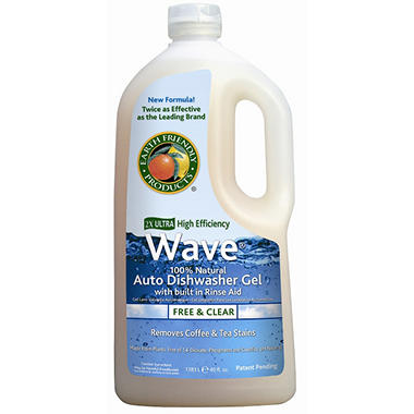 Earth Friendly Products Wave Auto Dishwasher Gel - 8 ct.