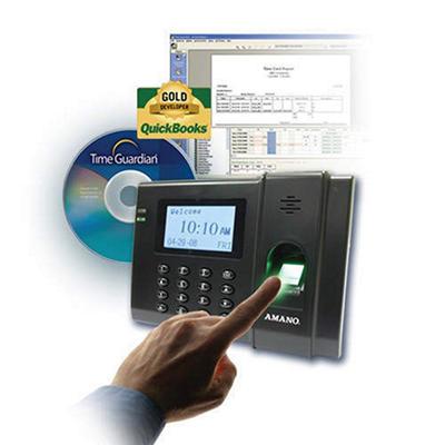 Time Guardian Fingerprint Biometric Time Clock