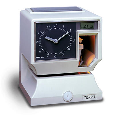 Amano Electronic Time Clock/Recorder