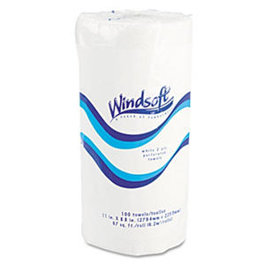 Windsoft Recycled Paper Towels - 30 Rolls