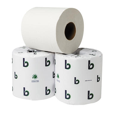 Boardwalk Green Plus Bathroom Tissue - 80 Rolls