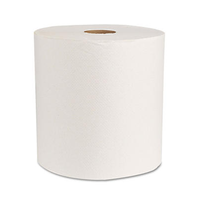 Boardwalk - Economy Hardwound Paper Towels, 1-Ply, 800 ft - 6 Rolls