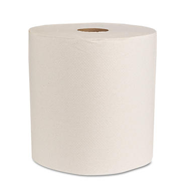 Boardwalk - Economy Recycled Hardwound Paper Towels, 1-Ply, 350 ft - 12 Rolls