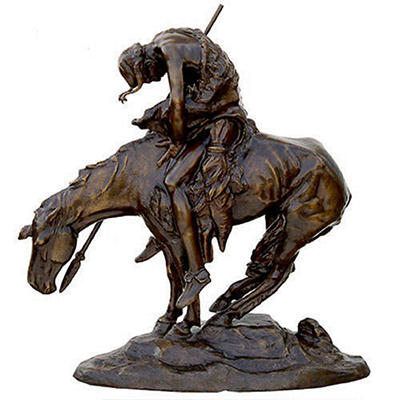 End of the Trail Bronze by James Fraser