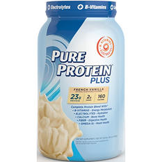 Pure Protein Plus French Vanilla Dietary Supplement - 2.25 lb.