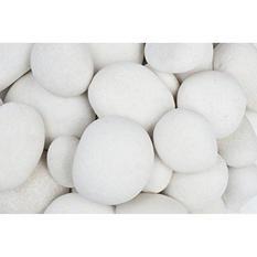 2200 lb. Large Egg Rock Caribbean Beach Pebble 3-5in. (Super Sack Pallet)