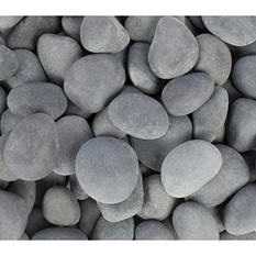 30 lb. Mexican Beach Pebble 1-2in. (60-Pack Pallet)