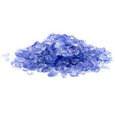 2 lb. Small Light Blue Landscape Glass