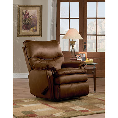 "Eli Fabric ""Royal Zero Gravity"" Rocker Recliner by Lane"