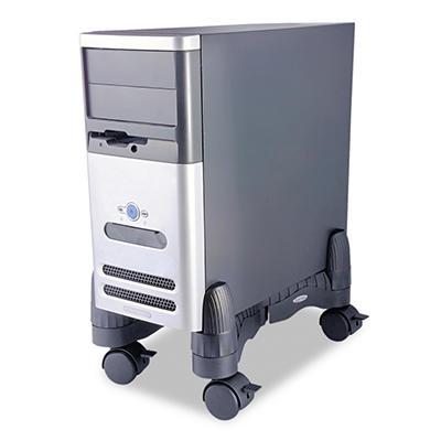 Kantek - Mobile CPU Stand, 4-1/2w x 16d x 7h -  Black