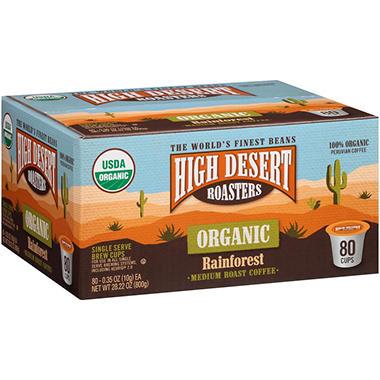 High Desert Roasters Organic Rainforest Medium Roast