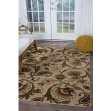Impressions Floral Area Rug (Assorted Sizes)