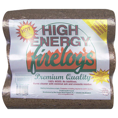 High Energy™ Firelogs - 3 pk.