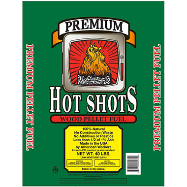 Hot Shots� Wood Pellet Fuel - 40 lbs.