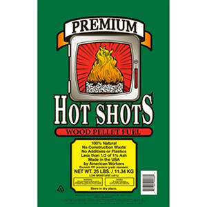 Hot Shots® Premium Wood Pellet Fuel - 25 lbs.