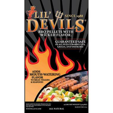 Lil' Devils® BBQ Pellets - 20 lbs.