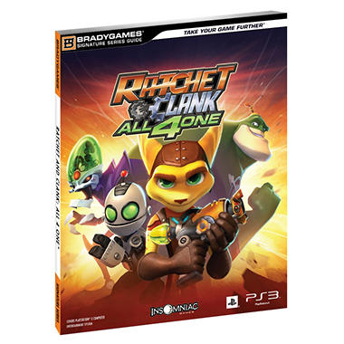 Brady Games Ratchet & Clank: All 4 One Guide