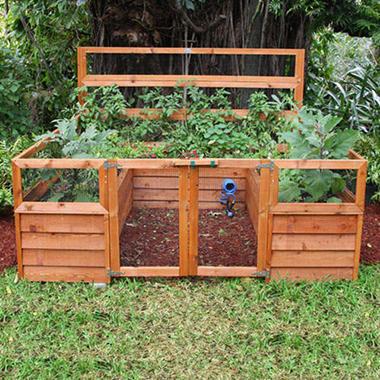 Backyard Botanical Complete Gardening System