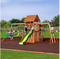 Saratoga Cedar Swing Set