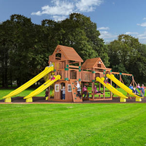 Backyard Odyssey Safari Cedar Playset