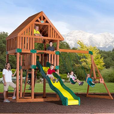 Backyard Odyssey Laramie Cedar Playset