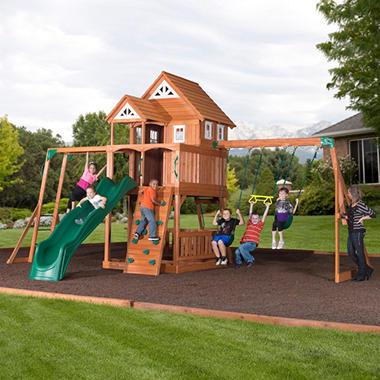 Worthington Cedar Playset and Free Installation