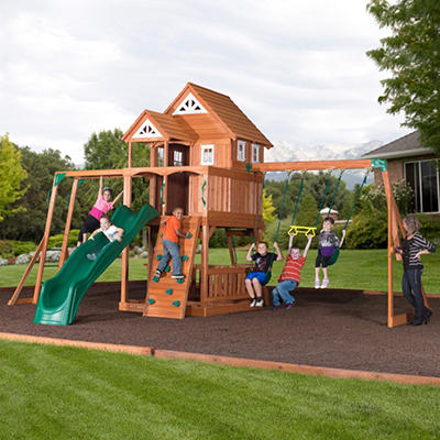 Worthington Cedar Playset and Free Installation