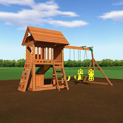 Alpine Cedar Swing Set/Play Set and Free Installation