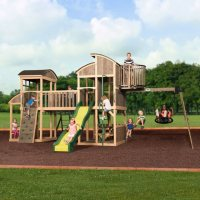 Backyard Discovery Grand Escape Swing Set Deals