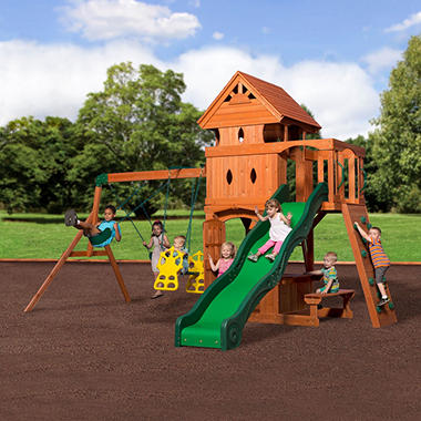 Monterey Cedar Swing/Play Set  Original Price $1099.00 Save $101.00